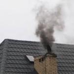 dym czarny